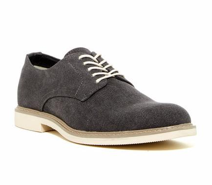 Public Opinion Zane Derby in Black-Mens Dress Shoes-Public Opinion-Unicorn Goods