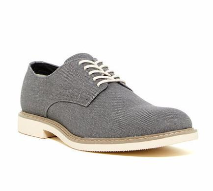 Public Opinion Zane Derby in Grey-Mens Dress Shoes-Public Opinion-Unicorn Goods