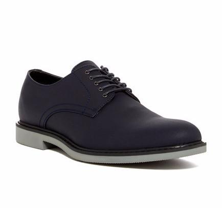 Public Opinion Zane Derby in Navy-Mens Dress Shoes-Public Opinion-Unicorn Goods