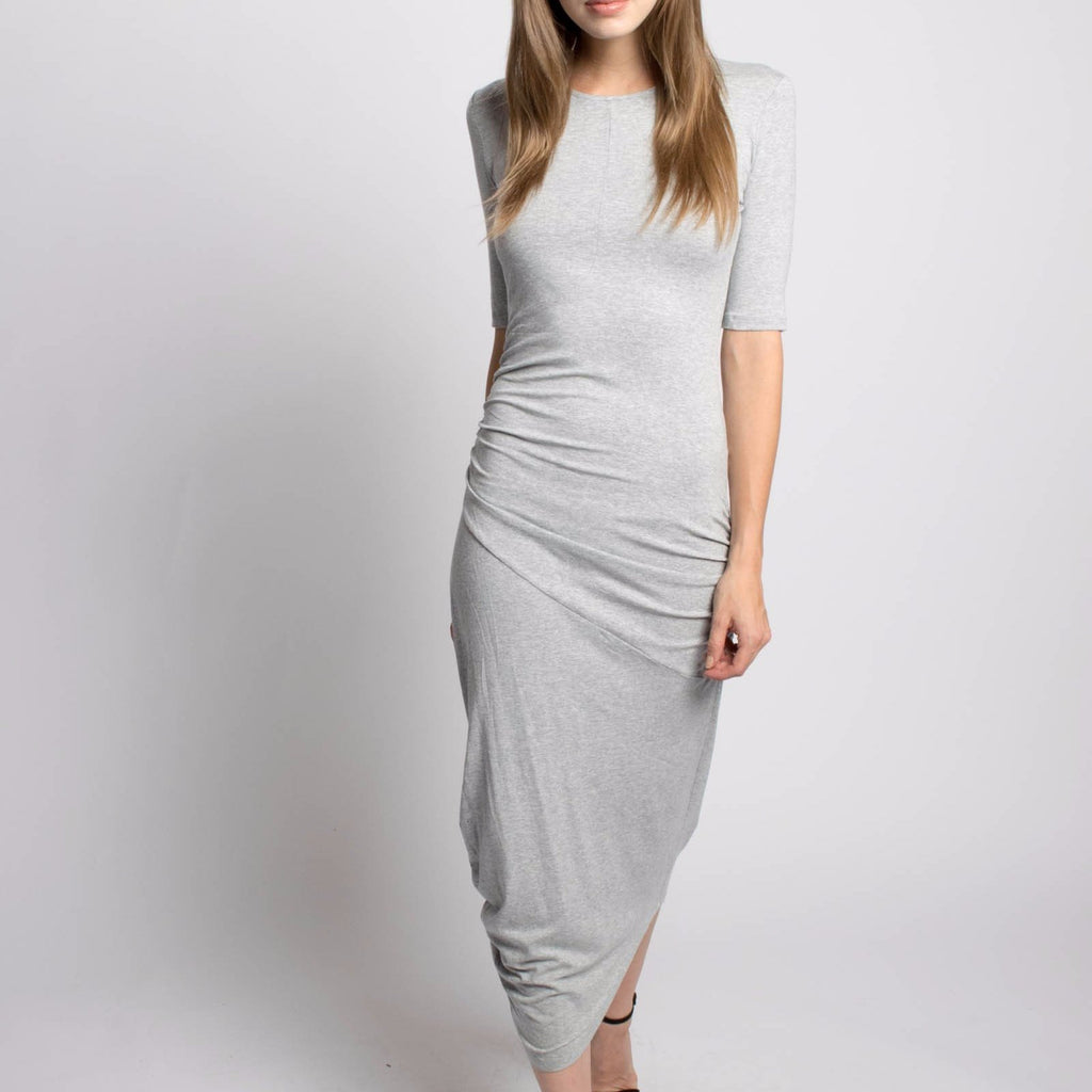 Rakha Draped Mila Dress-Womens Long Dress-Bead and Reel-Unicorn Goods