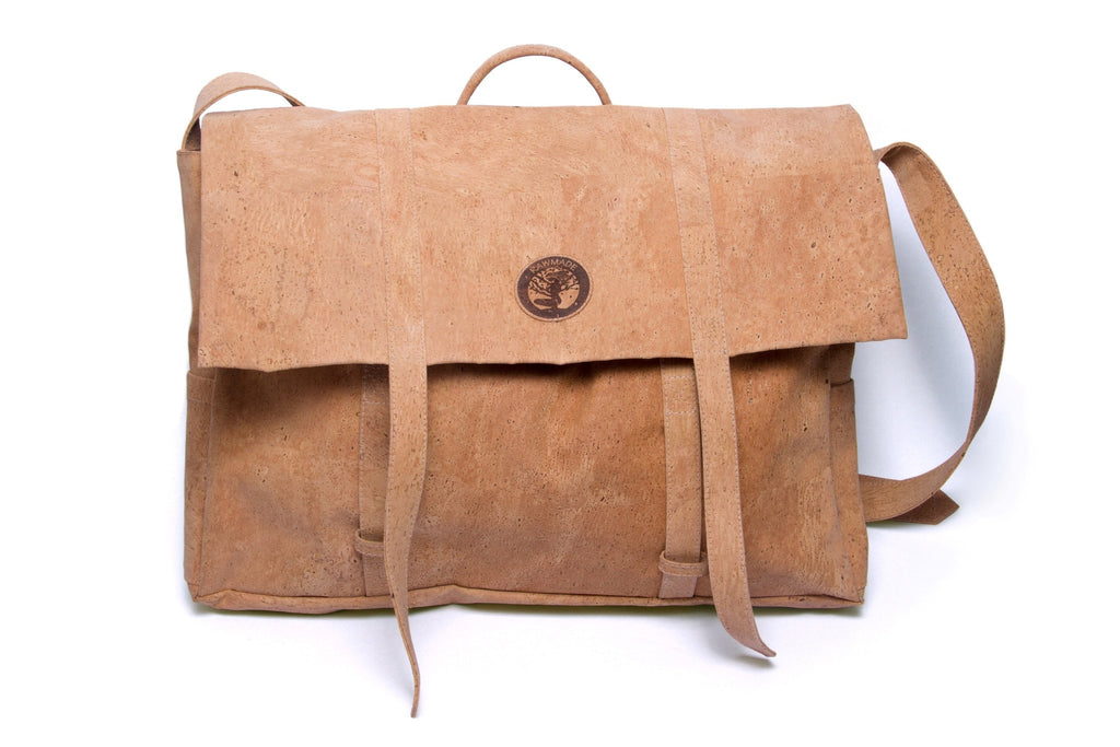 61167f31409 RawMade Cork Messenger Bag-Unisex Messenger Bag-RawMade-Unicorn Goods ...