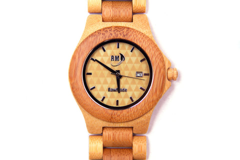 RawMade Native Instinct Bamboo Watch-Unisex Watch-RawMade-Unicorn Goods