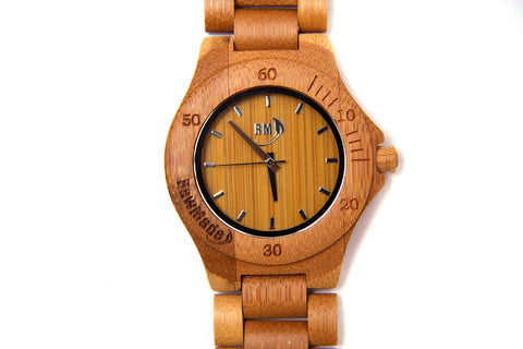 RawMade Original Creature Bamboo Watch-Unisex Watch-RawMade-Unicorn Goods