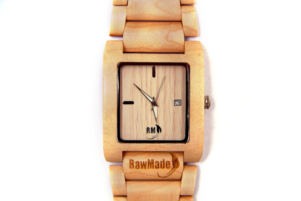 6b30b952fe7 RawMade Reef Maple Wood Watch – Unicorn Goods