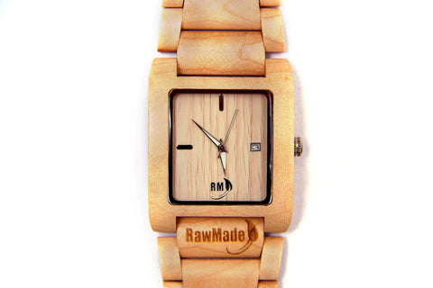 RawMade Reef Maple Wood Watch-Unisex Watch-RawMade-Unicorn Goods