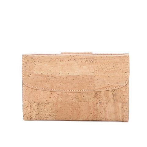 Rok Cork Grace Wallet in Natural-Womens Wallet-Rok Cork-Unicorn Goods