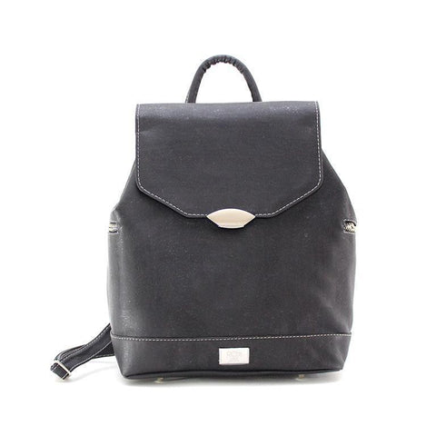 Rok Cork Jillian Backpack in Black-Womens Backpack-Rok Cork-Unicorn Goods
