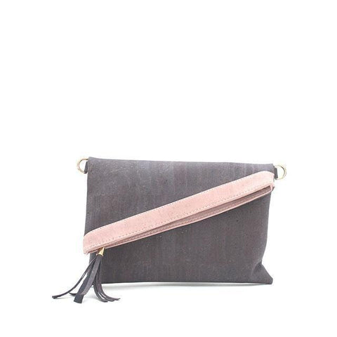 Rok Cork Mimi Clutch in Tawny Port-Womens Clutch-Rok Cork-Unicorn Goods