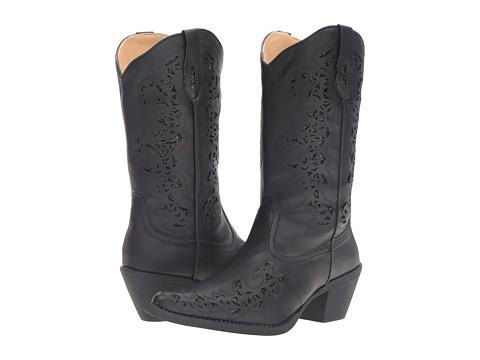 Roper Boots With Cutouts-Womens Boots-Roper-Unicorn Goods