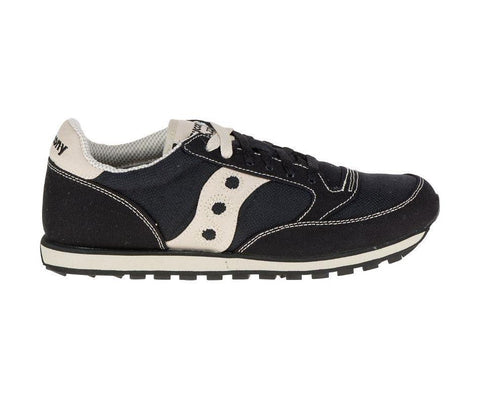 Saucony Men's Jazz Low Pro Sneakers in Black and Oatmeal-Mens Athletic Shoes-Saucony-Unicorn Goods