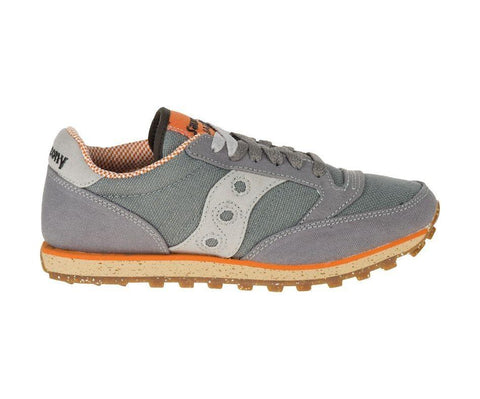Saucony Women's Jazz Low Pro Sneakers in Charcoal and Orange-Womens Athletic Shoes-Saucony-Unicorn Goods