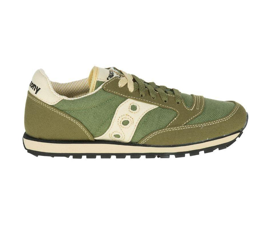 Saucony Women's Jazz Low Pro Sneakers in Moss Green-Womens Athletic Shoes-Saucony-Unicorn Goods