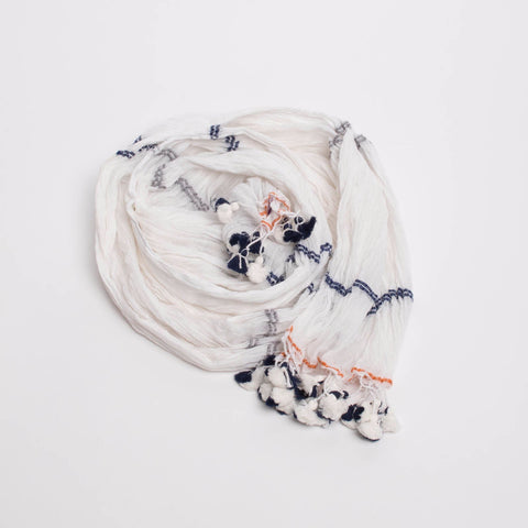 Sévya Radhika Tassel Scarf-Womens Scarf-Bead and Reel-Unicorn Goods
