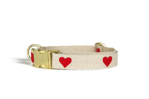 Shed Heart Collar-Pet-Shed-Unicorn Goods