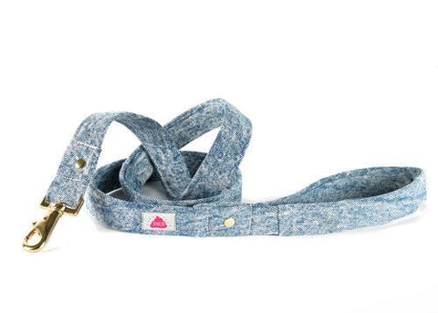 Shed Mom Jeans Leash in Acid Wash-Pet-Shed-Unicorn Goods