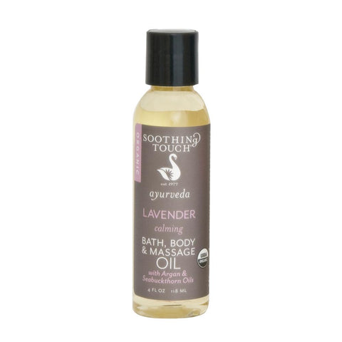 Soothing Touch Lavender Bath, Body & Massage Oil-Unisex Body-Soothing Touch-Unicorn Goods