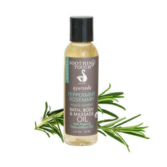 Soothing Touch Peppermint Rosemary Bath, Body & Massage Oil-Unisex Body-Soothing Touch-Unicorn Goods