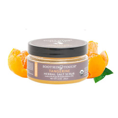 Soothing Touch Tangerine Herbal Salt Scrub-Unisex Bath-Soothing Touch-Unicorn Goods