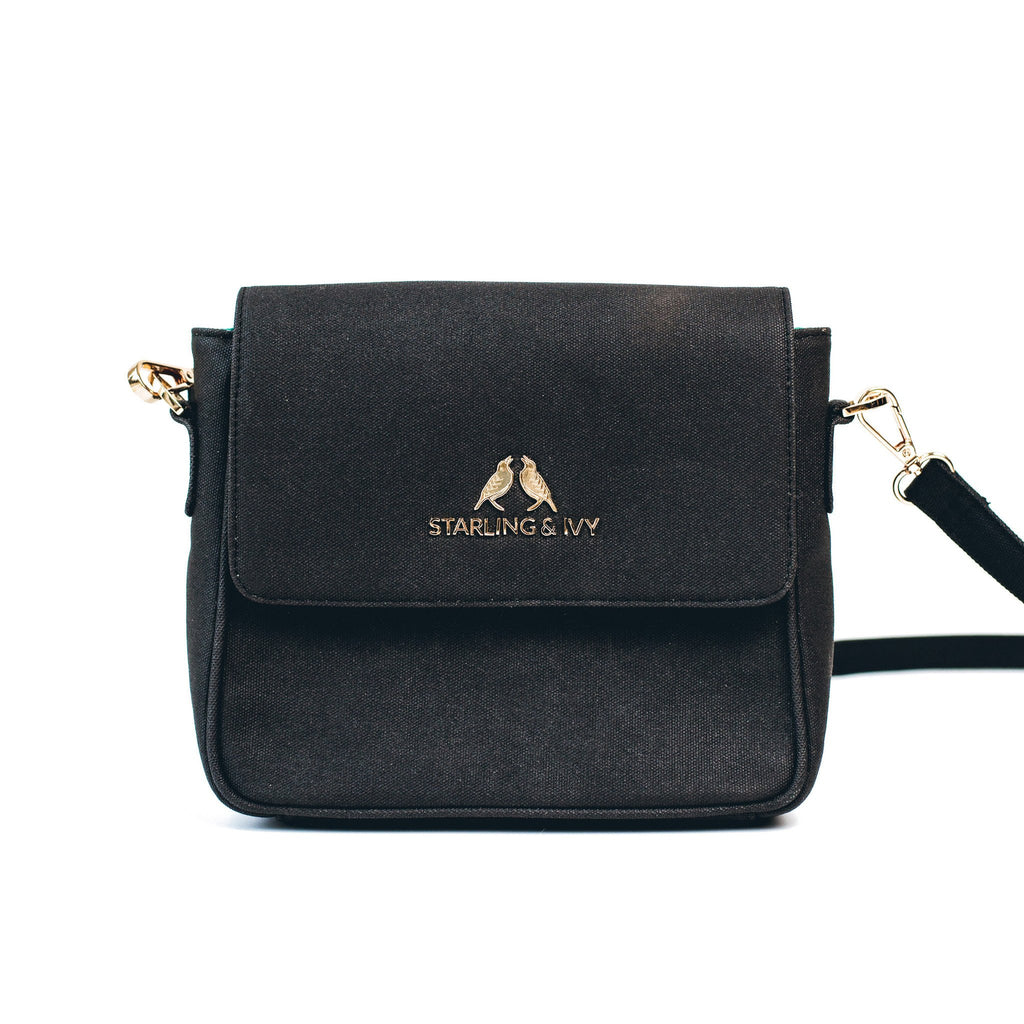 Starling & Ivy Onxy Mini Crossbody Bag-Womens Purse-Starling & Ivy-Unicorn Goods