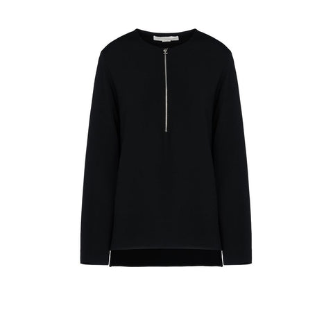 Stella McCartney Arlesa Top in Black-Womens Shirt-Stella McCartney-Unicorn Goods