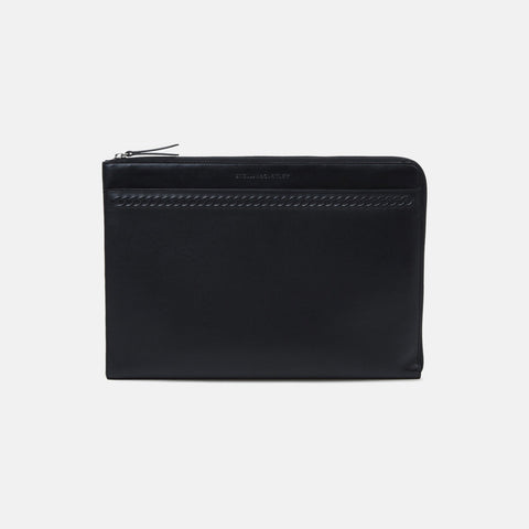 Stella McCartney Black Alter Nappa Laptop Case-Unisex Tech Case-Stella McCartney-Unicorn Goods