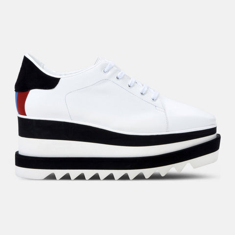 Stella McCartney Black and White Sneak-Elyse-Womens Sneakers-Stella McCartney-Unicorn Goods