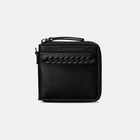 Stella McCartney Black Eco Alter Nappa Falabella Wallet-Womens Wallet-Stella McCartney-Unicorn Goods