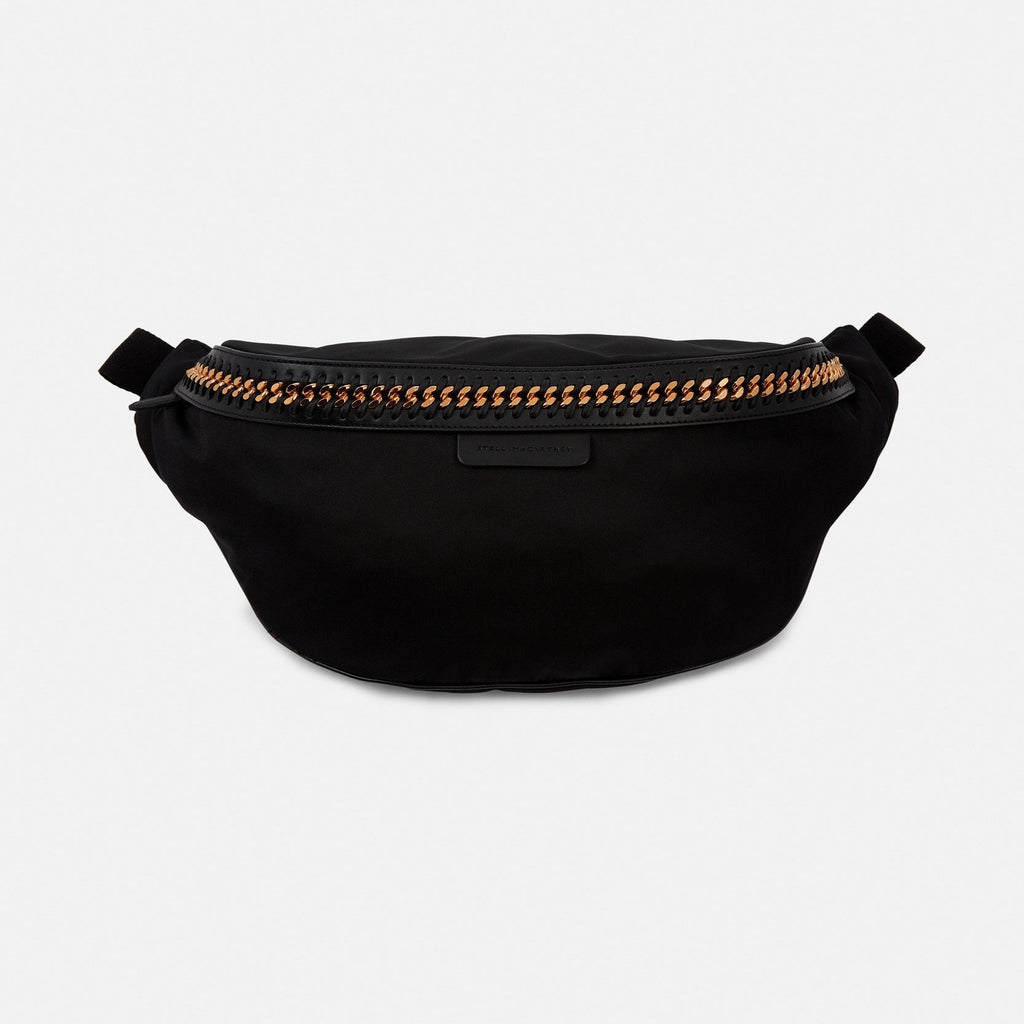Stella McCartney Black Falabella Go Bumbag-Womens Fanny Pack-Stella McCartney-Unicorn Goods