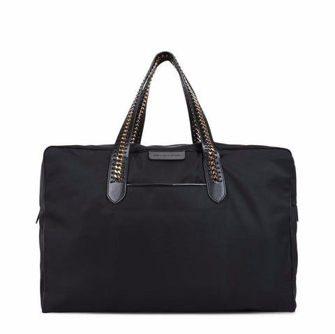 Stella McCartney Black Falabella GO Travel Bag-Womens Duffle-Stella McCartney-Unicorn Goods