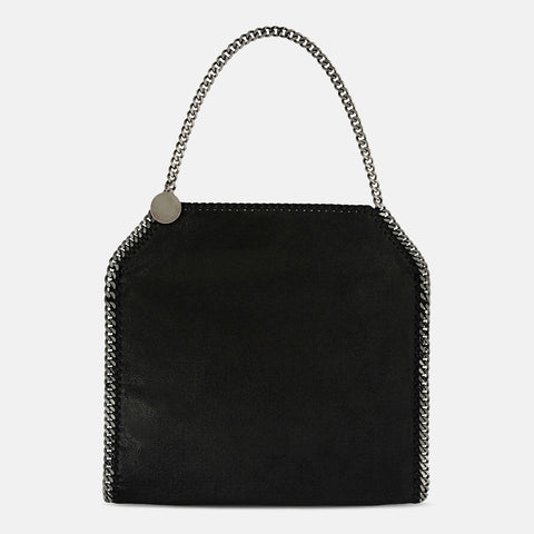 cb7baf21bd Stella McCartney Black Falabella Shaggy Deer Small Tote