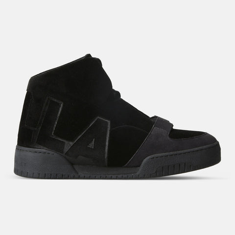 Stella McCartney Black High Top Sneakers-Womens Sneakers-Stella McCartney-Unicorn Goods