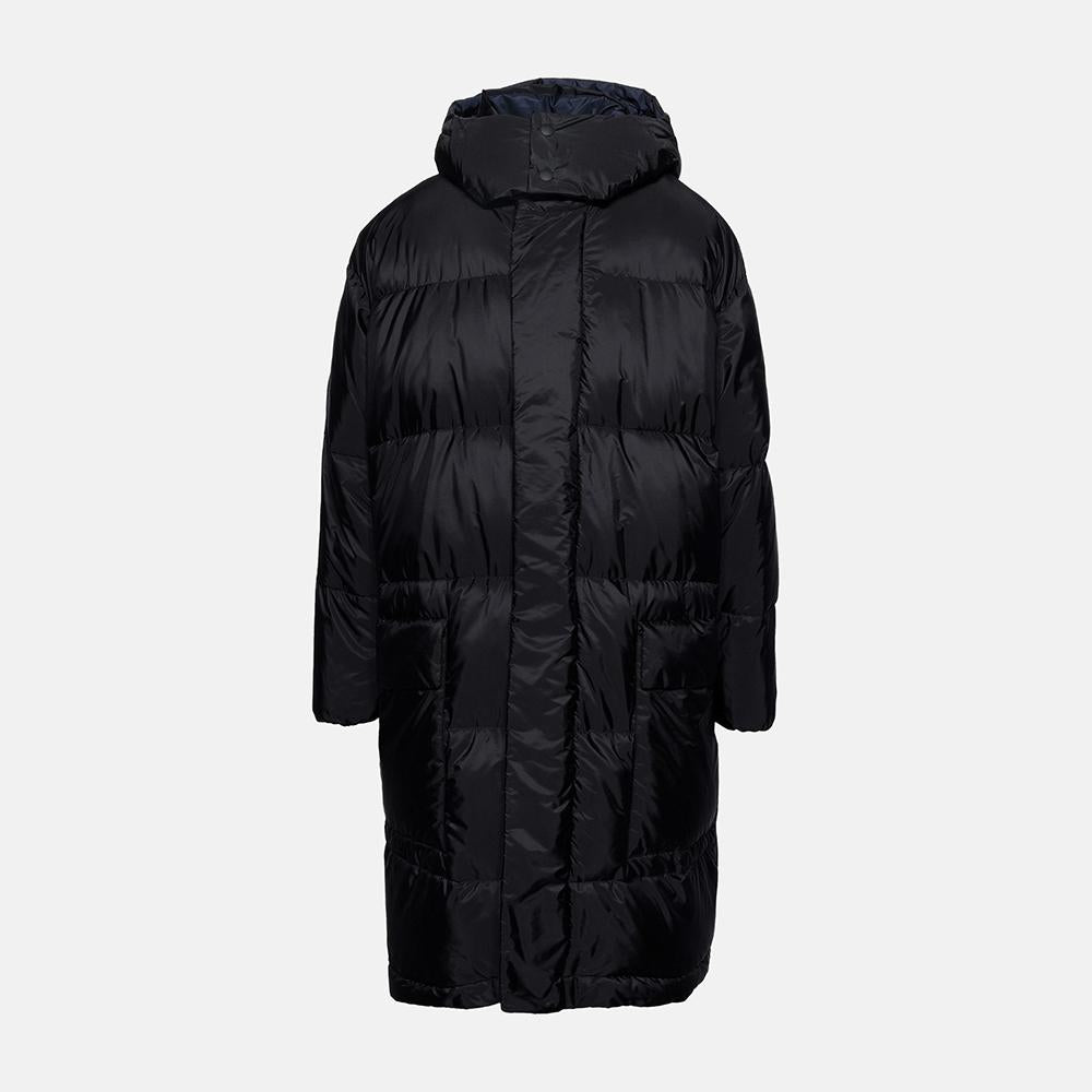 Stella McCartney Black Orlando Puffer Coat-Mens Coat-Stella McCartney-Unicorn Goods