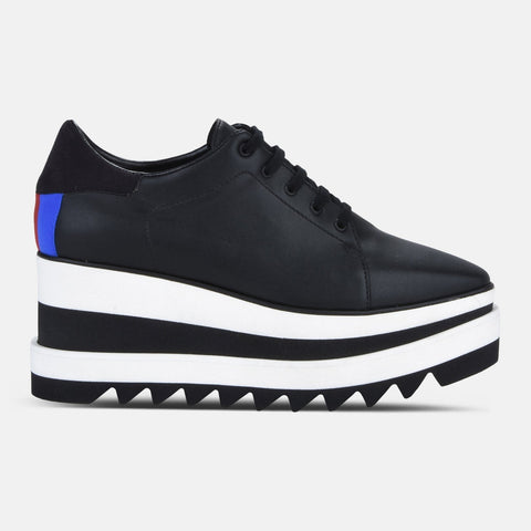 Stella McCartney Black Sneak-Elyse-Womens Sneakers-Stella McCartney-Unicorn Goods