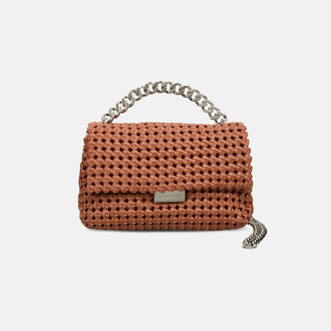 2d2c1ccd56 Stella McCartney Brandy Becks Weaved Small Shoulder Bag