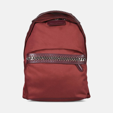 Stella McCartney Burdungy Falabella GO Backpack-Womens Backpack-Stella McCartney-Unicorn Goods