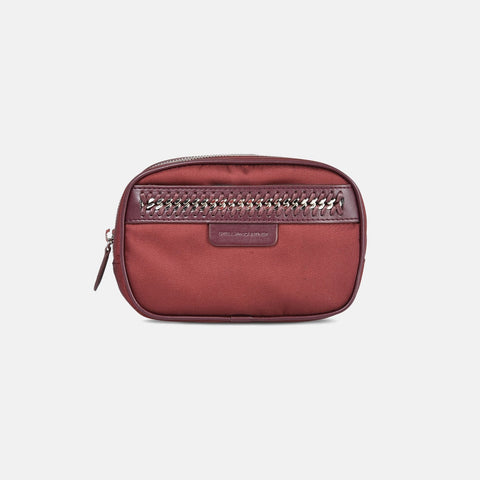 Stella McCartney Burgundy Big Falabella GO Amall Cosmetic Case-Makeup - Tools-Stella McCartney-Unicorn Goods