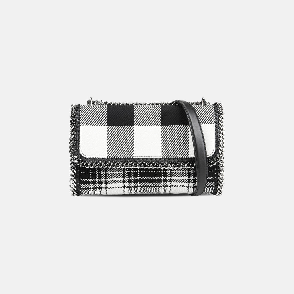 6615fb44af Stella McCartney Check Print Falabella Cross Body Bag – Unicorn Goods