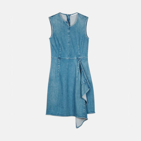 Stella McCartney Ciara Denim Dress-Womens Short Dress-Stella McCartney-Unicorn Goods