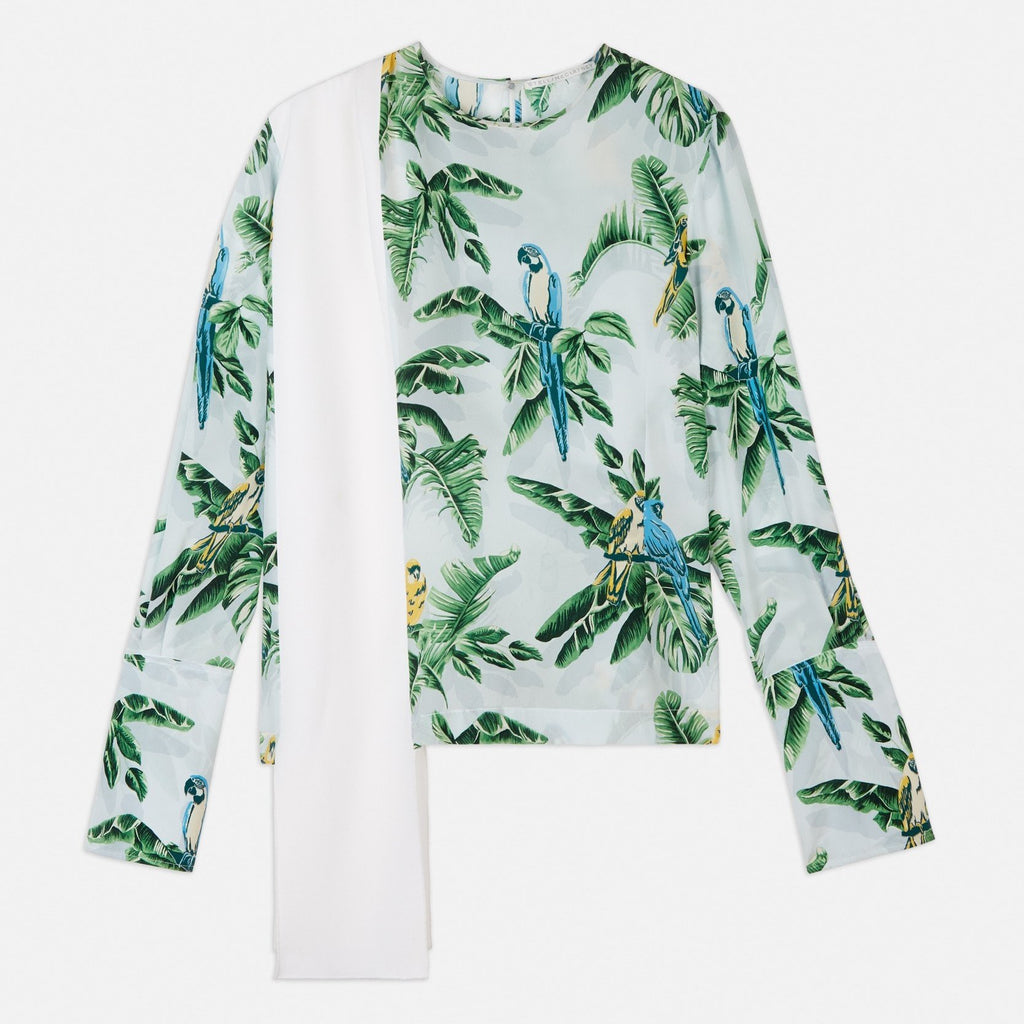 Stella McCartney Clare Paradise Top-Womens Shirt-Stella McCartney-Unicorn Goods