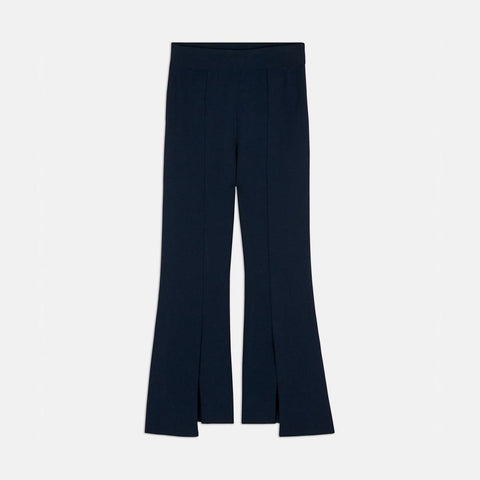 Stella McCartney Compact Knit Pants in Ink-Womens Pants-Stella McCartney-Unicorn Goods