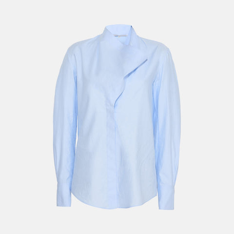 Stella McCartney Damiane Blue Shirt-Womens Shirt-Stella McCartney-Unicorn Goods
