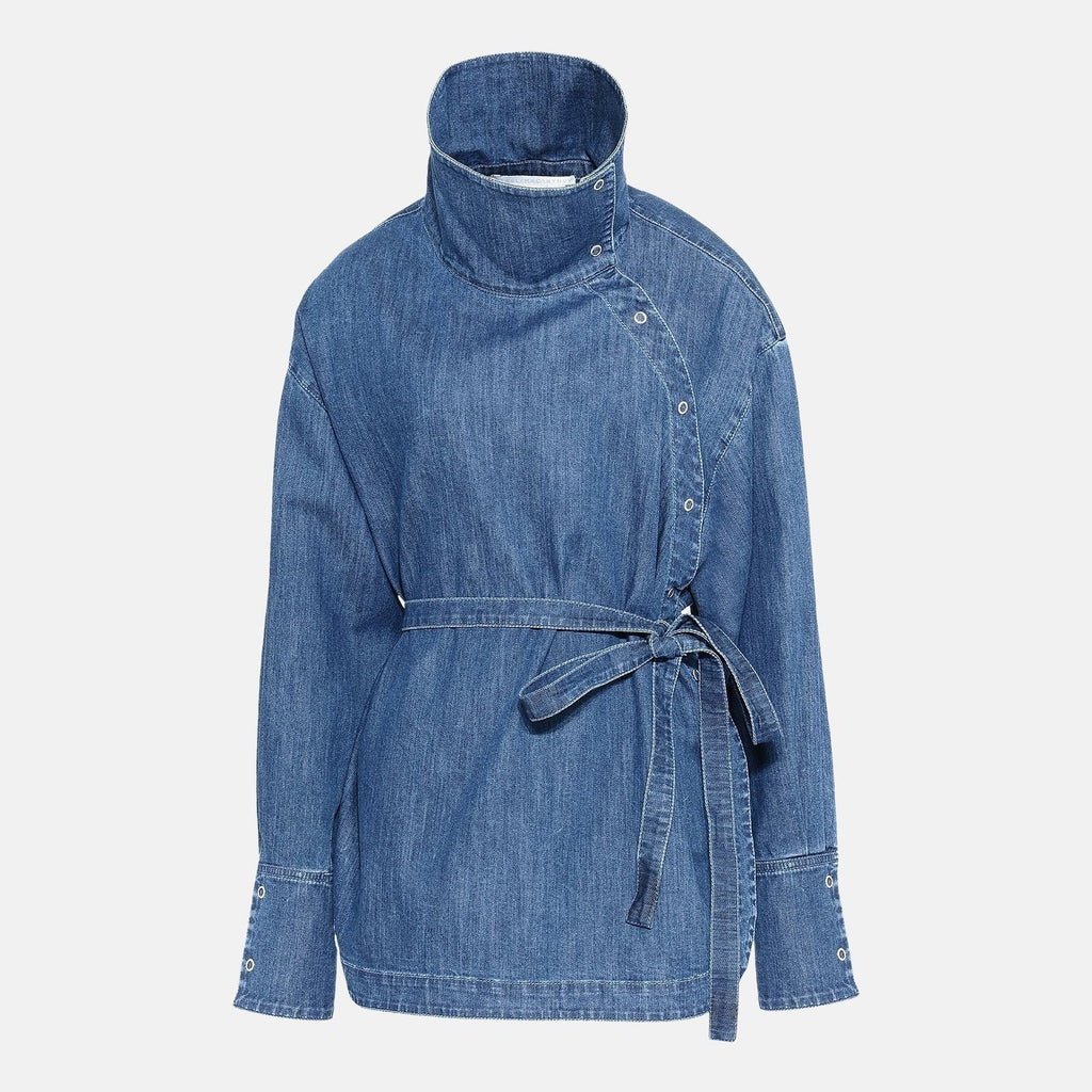8b87486037 Stella McCartney Denim Wrap Shirt – Unicorn Goods