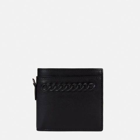 Stella McCartney Embossed Falabella Wallet in Black-Womens Wallet-Stella McCartney-Unicorn Goods