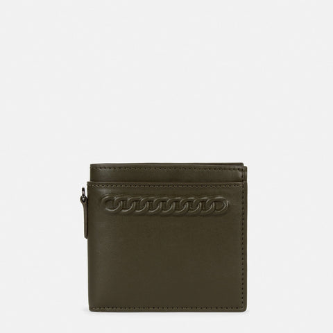 Stella McCartney Embossed Falabella Wallet in Green-Womens Wallet-Stella McCartney-Unicorn Goods