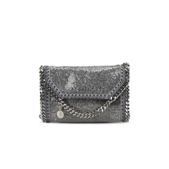 Stella McCartney Falabella Crystal Stones Tiny Fold Over Tote-Womens Clutch-Stella McCartney-Unicorn Goods