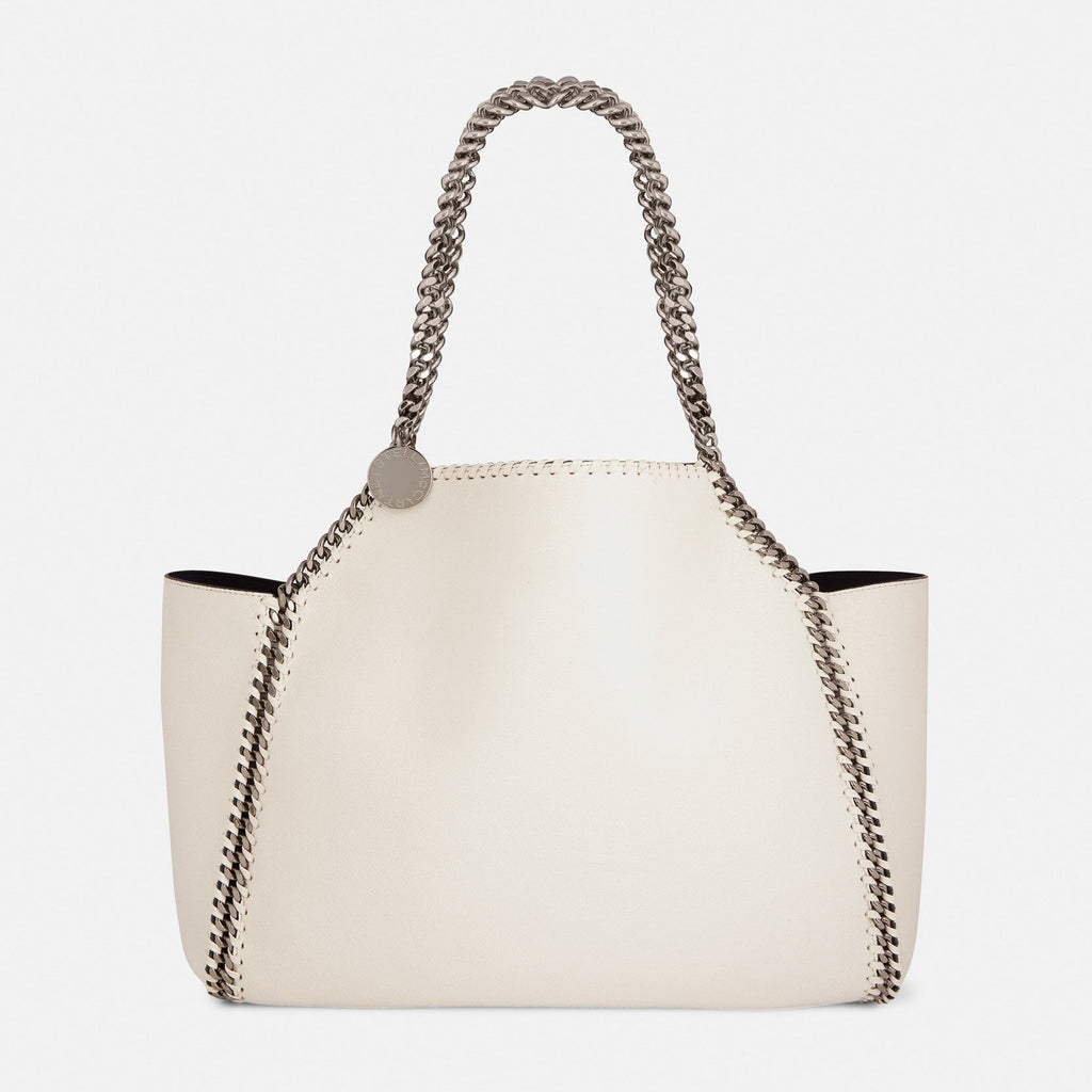 Stella McCartney Falabella Reversible Tote in White – Unicorn Goods fb72ad32db24b