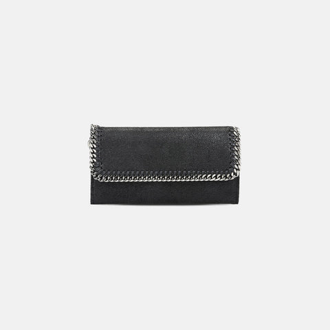 Stella McCartney Falabella Shaggy Deer Flap Wallet-Womens Wallet-Stella McCartney-Unicorn Goods