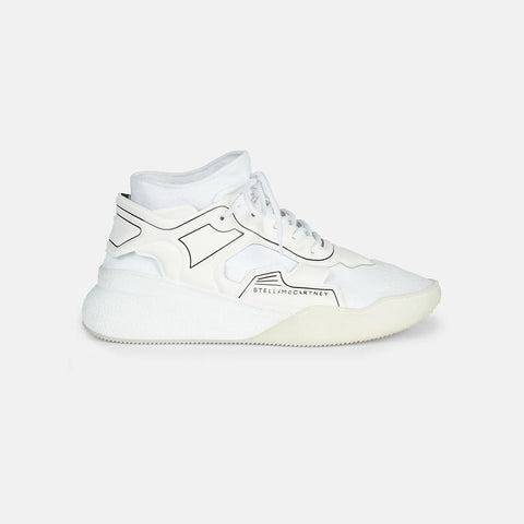 Stella McCartney Glueless Running Sneakers in White-Mens Sneakers-Stella McCartney-Unicorn Goods