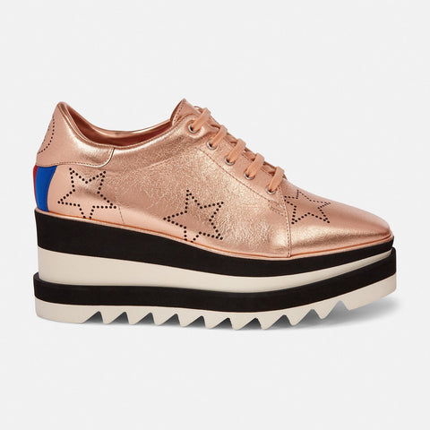 Stella McCartney Gold Sneak-Elyse-Womens Sneakers-Stella McCartney-Unicorn Goods