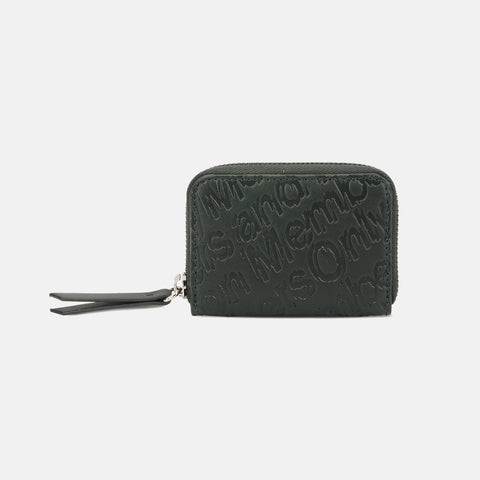 Stella McCartney Green Eco Alter Nappa Embossed Coin Purse-Womens Wallet-Stella McCartney-Unicorn Goods